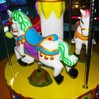 Kids Amusement Coin Operated Carousel Kiddie Ride Merry Go Round