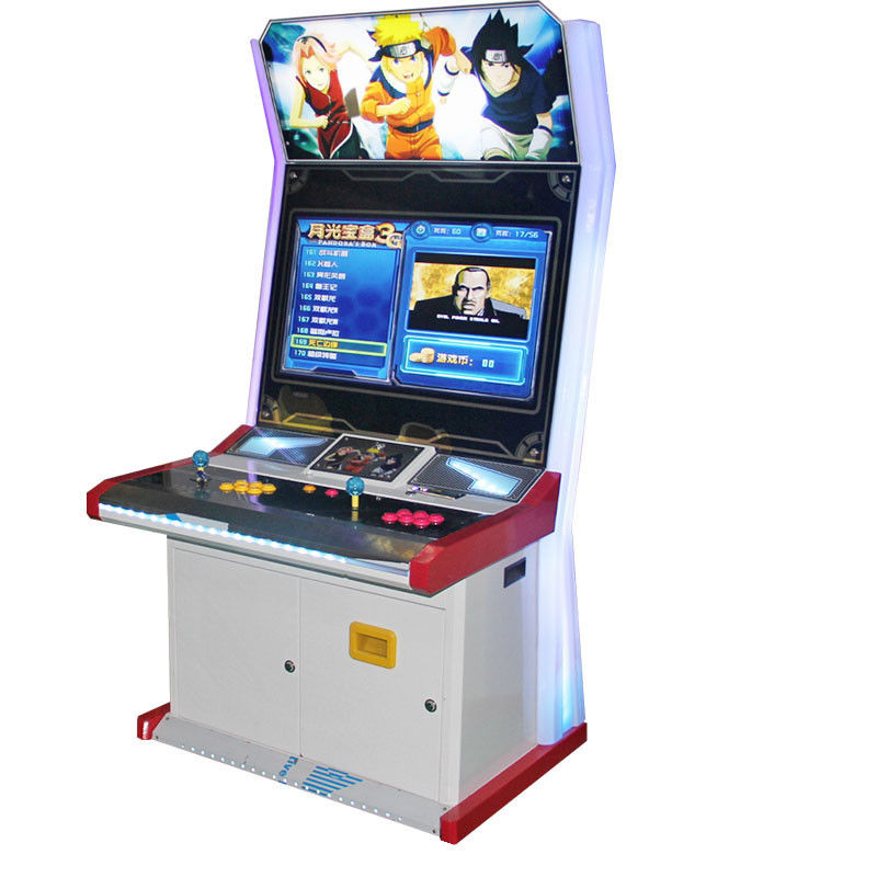 Simulator Commercial Arcade Machine Fighting Games 32 Inch HD LG Screen