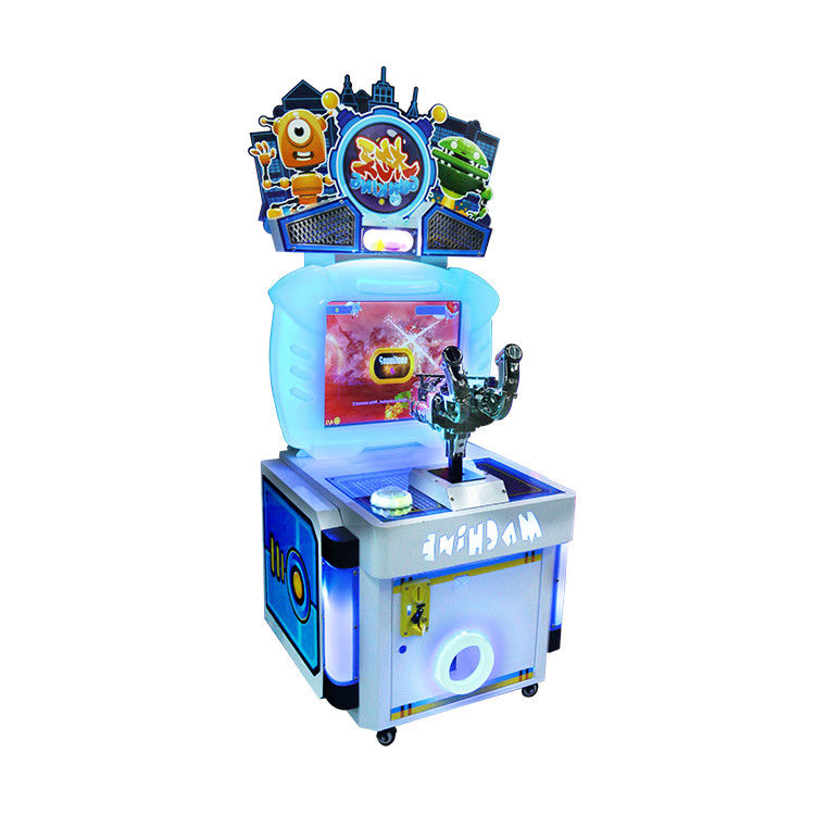 Indoor Amusement Kids Arcade Machine Coin Operated With Stereo Sound